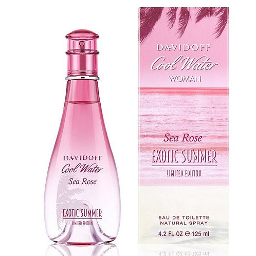 DAVIDOFF COOLWATER EXOTIC SUMMER SEA ROSE EDT 3.4 OZ WOMAN