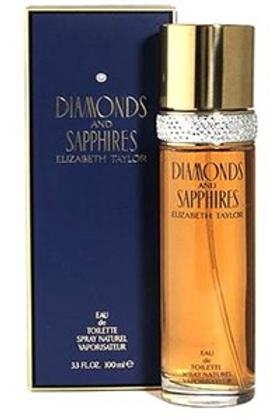 ELIZABETH TAYLOR DIAMONDS & SAPPHIRES EDT 3.3 OZ W