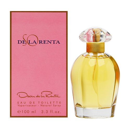 OSCAR DE LA RENTA SO DE LA RENTA EDT 3.4 OZ WOMAN