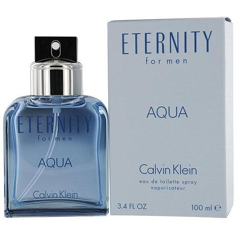 CALVIN KLEIN ETERNITY AQUA EDT 3.4 OZ MAN