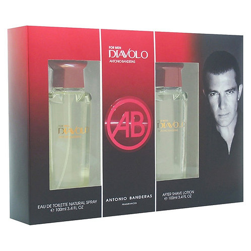 ANTONIO BANDERAS DIAVOLO GIFT SET MAN (EDT 3.4 + AS 3.4)
