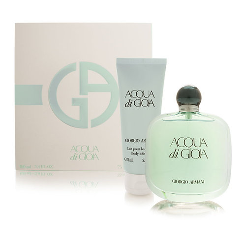 GIORGIO ARMANI ACQUA DI GIOA SET WOMAN TRAVEL EXCLUSIVE