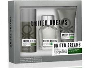 BENETTON UNITED DREAMS AIM HIGH SET MAN (EDT 3.4 + AS 3.4 + DEO 5.1)
