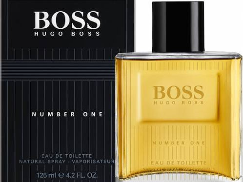 HUGO BOSS BOSS NUMBER ONE EDT 4.2 OZ MAN