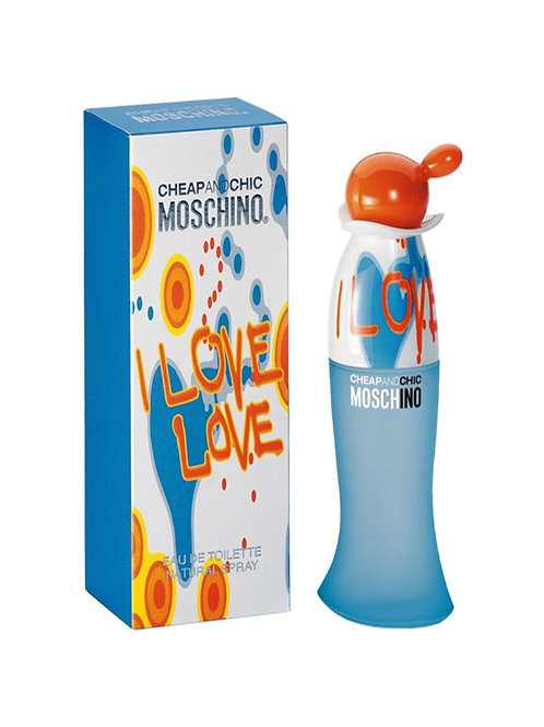 MOSCHINO I LOVE LOVE EDT 3.4 OZ FOR WOMAN