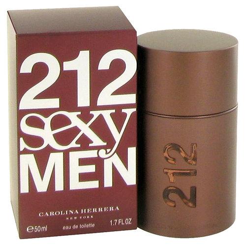 CAROLINA HERRERA 212 SEXY MEN EDT 1.7 OZ MAN