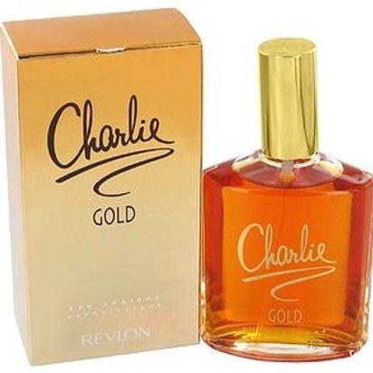 REVLON CHARLIE GOLD EDT 3.4 OZ WOMEN