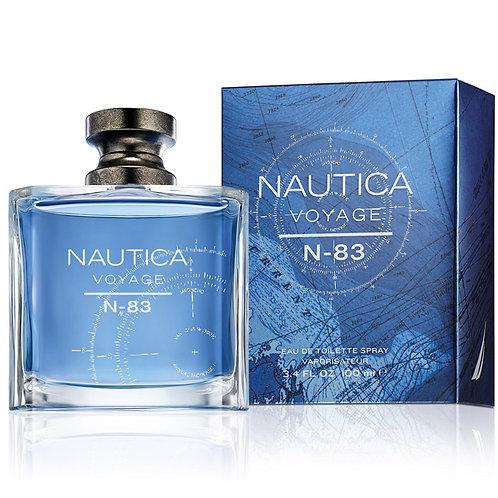 NAUTICA VOYAGE EDT N-83 EDT 3.4 OZ MAN