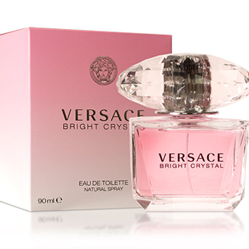 VERSACE BRIGHT CRYSTAL EDT 3.0 OZ WOMAN