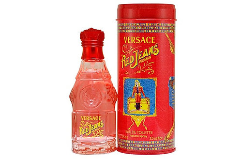 VERSACE RED JEANS EDT 2.5 OZ WOMAN