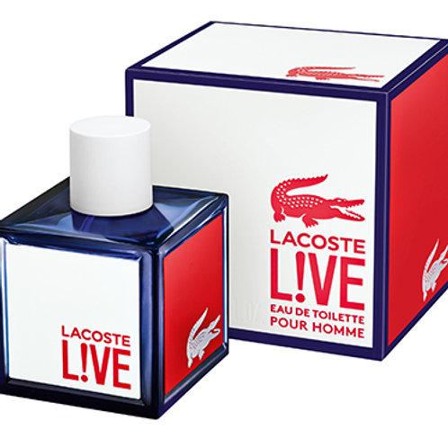 LACOSTE LIVE EDT 3.3 OZ MAN