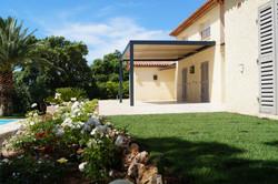 Pergola bioclimatique, Sainte Maxime