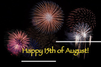 Be patient, be on time and enjoy the amazing fireworks, have a lovely 15th of August !