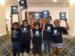 U-13 yrs World Open Champion for under 600 rating category - 2019