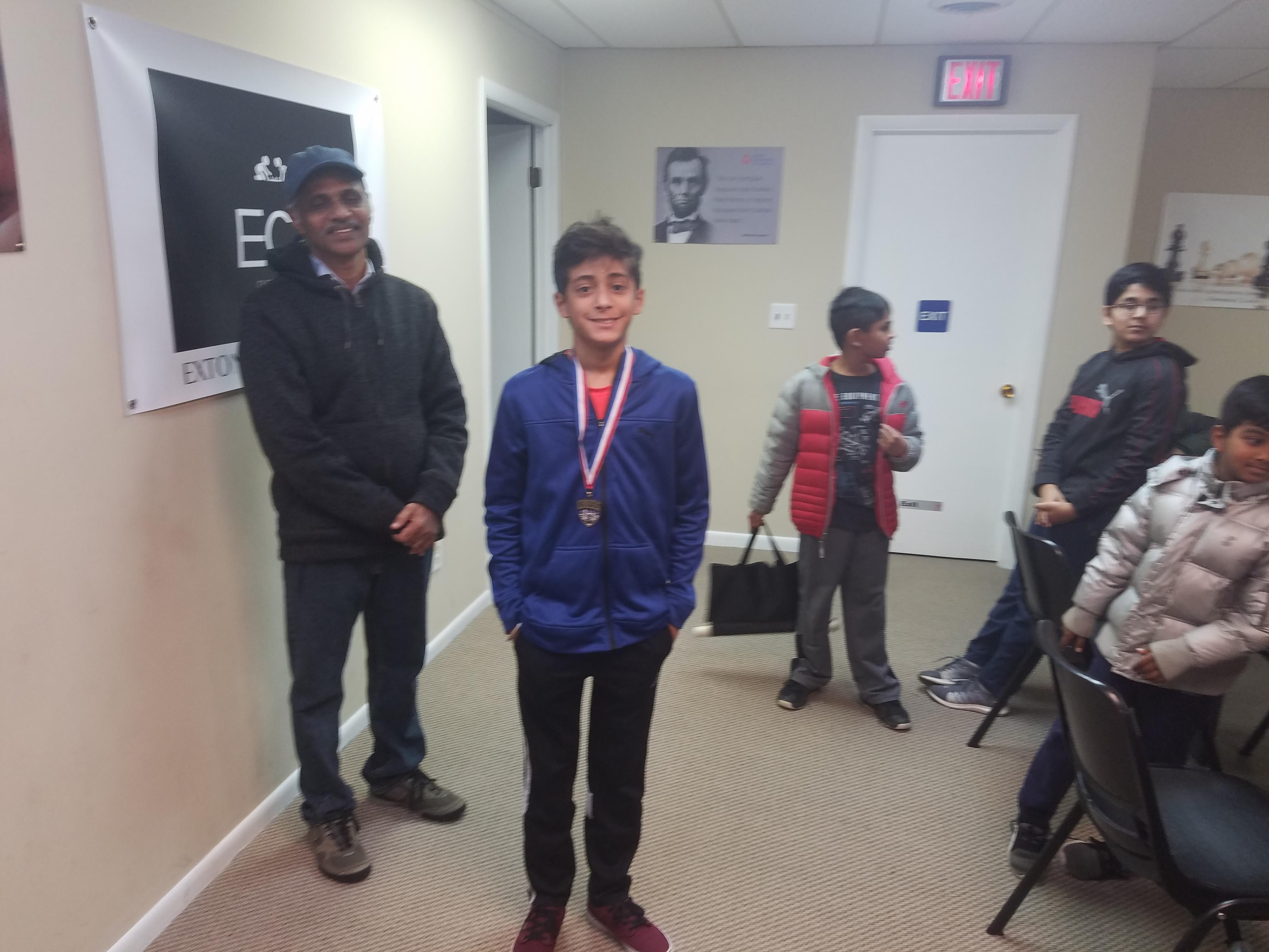 U-14 Runner-up (Areen)