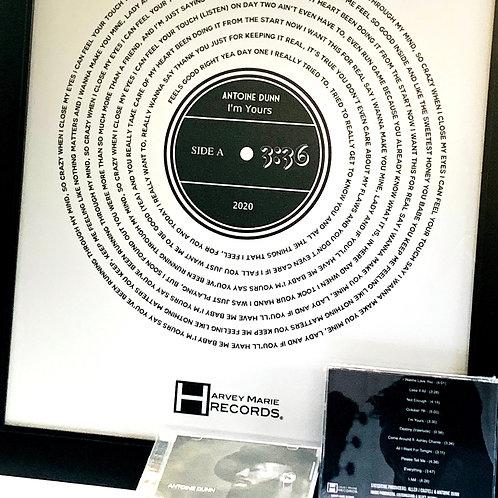 """""""Everything"""" Bundle - CD + 11x17 Framed Poster"""