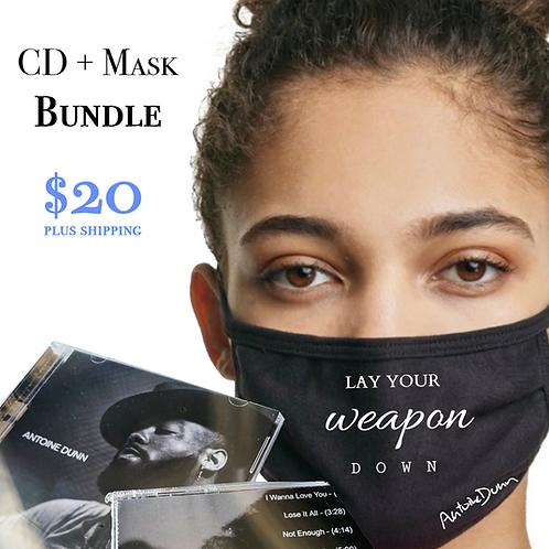 CD + Mask (BUNDLE)