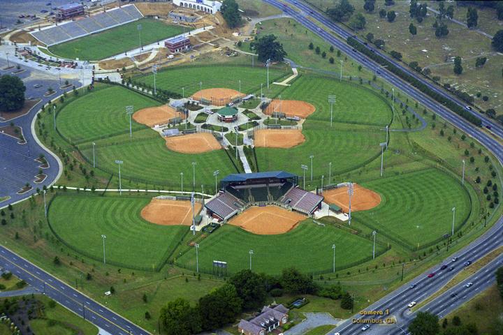 aerial view - softball stadium - softball field - memorial stadium.jpg
