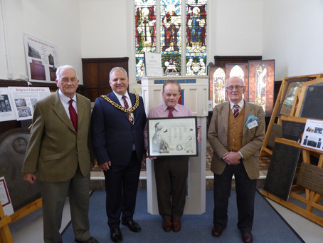 Lord Mayor of Leicester visit