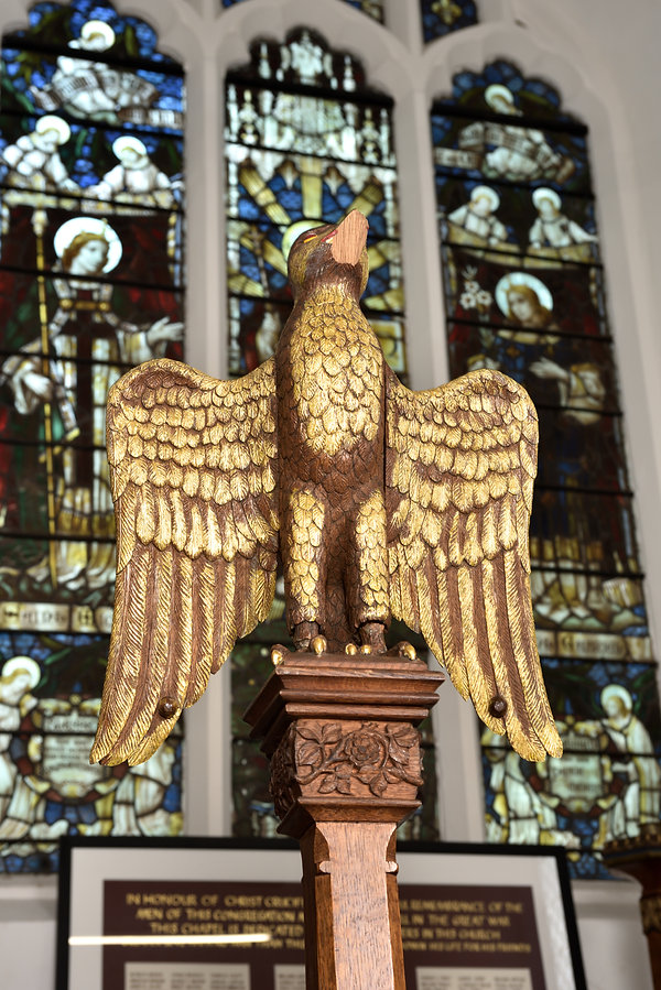 St S Eagle lectern Chadwicksphoto 69896-