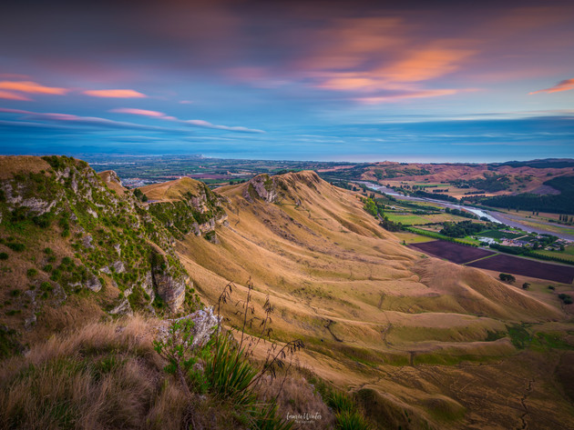 Sunrise from Te Mata Peak