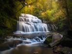 Purakaunui Falls in the Catlins