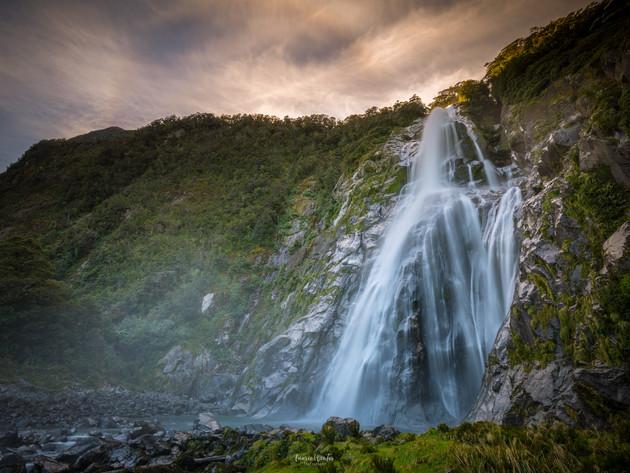 Lady Bowen Falls Milford Sound