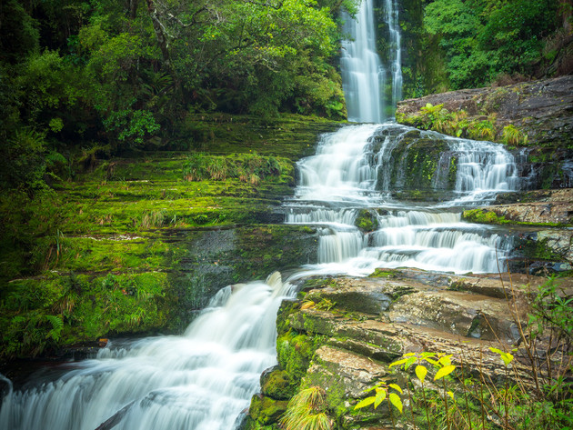 The Impressive McLean Falls in the Catlins