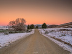 Central Otago Road Sunset