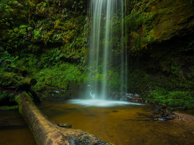 Catlins Waterfall Koropuku Falls