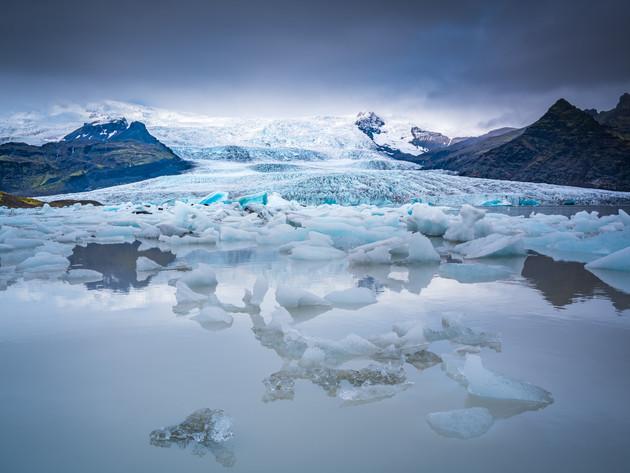 Vatnajökull Glacier Lagoon Iceland