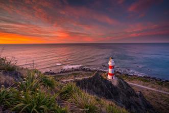 Sunrise at Cape Palliser Lighthouse