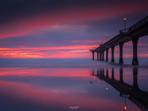 New Brighton Pier Christchurch Sunrise