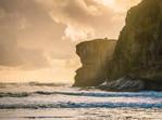 Muruwai Beach Sunset Auckland