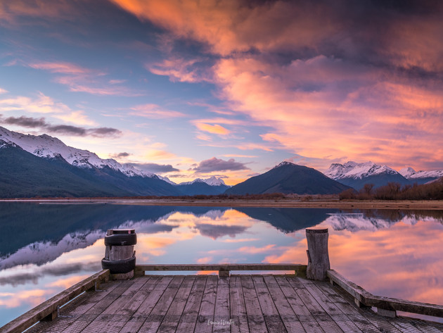 Glenorchy Sunset from the Wharf
