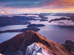 Beautiful Sunrise from Roy's Peak