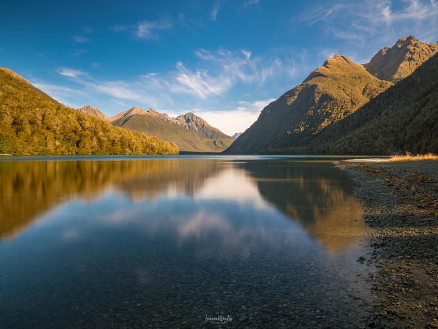 Lake Gunn Sunrise Fiordland