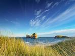 Archway Islands Wharariki Beach