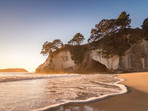 Golden Sunrise Cathedral Cove