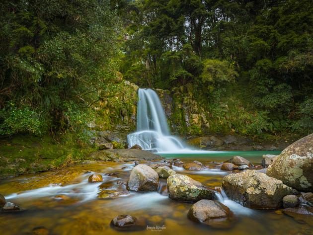 Coromandel Waterfall Waiau Falls