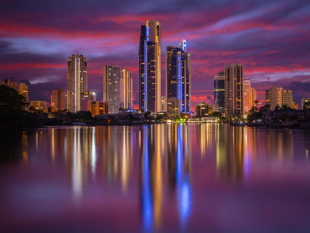 Nerang River Sunrise on the Gold Coast