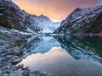 Lake Marian Sunset Fiordland