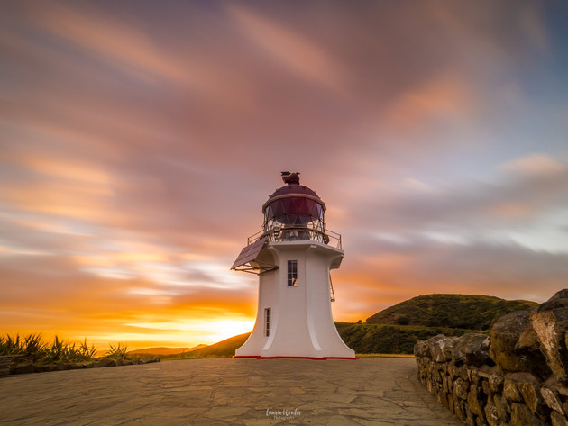Sunrise at Cape Reinga Lighthouse