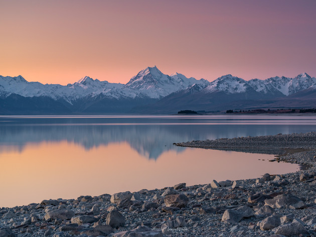 Mt Cook Reflections Lake Pukaki