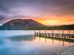 Sunset at Lake Rotoiti Nelson Lakes