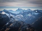 Fiordland Mountains in Winter