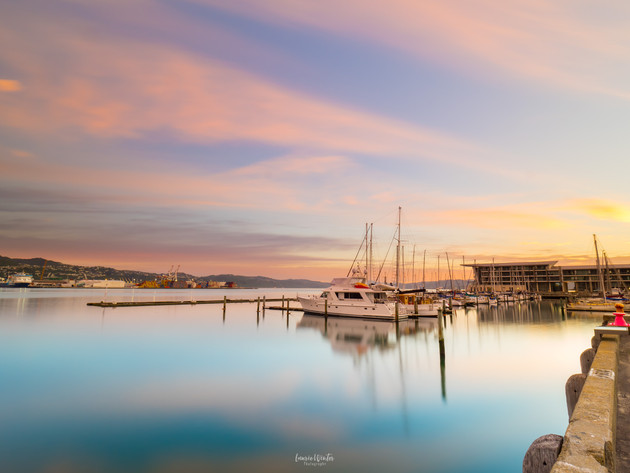 Sunrise at Wellington Chaffers Marina