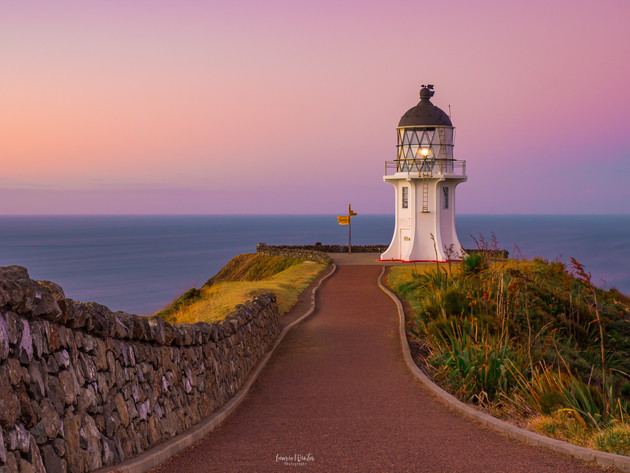 Cape Reinga Lighthouse Sunset