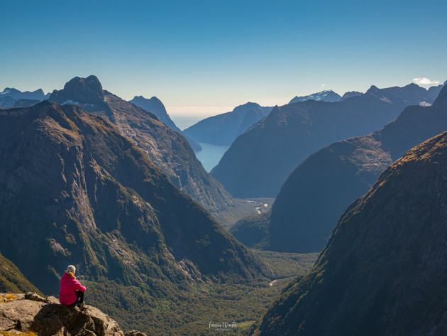 Gertrude Saddle Views Fiordland