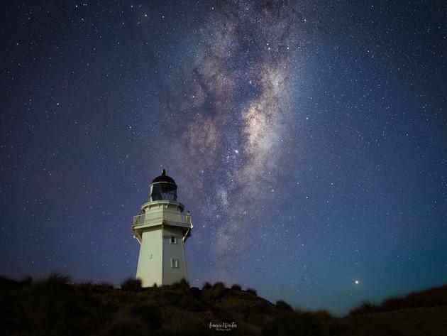 Starry Night at Waipapa Point Catlins